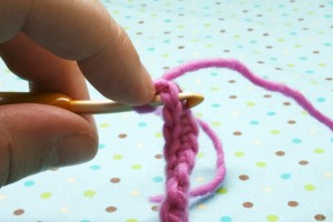 Single crochet 11